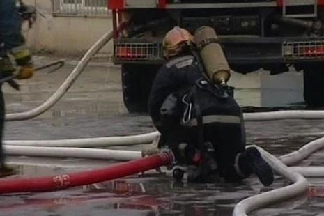 Пожар по №1 БИС Красногвардейский районе