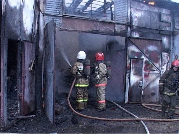 Пожар в Колпинском районе локализован