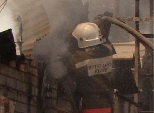 Спасатели ликвидировали пожар в Колпинском районе