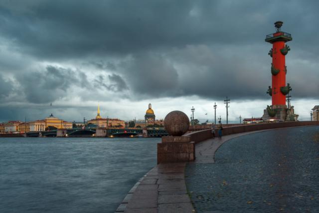 В Санкт-Петербурге ожидается  ухудшение погодных условий